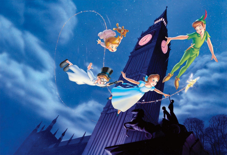 Peter Pan de Disney.