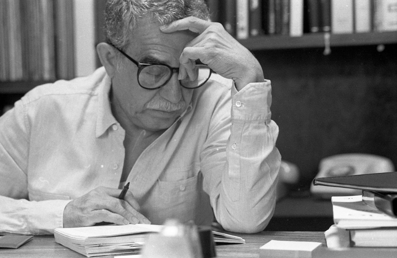 Gabriel García Márquez - primera línea